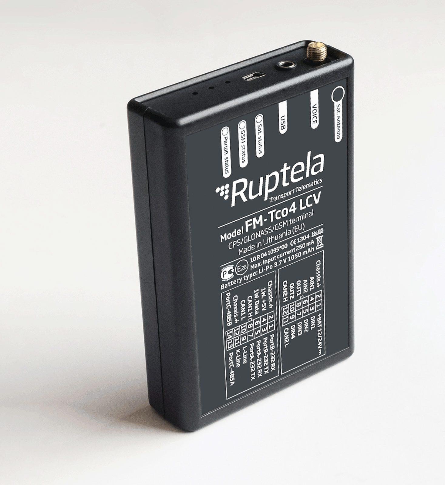 Ruptela-Tco4LCV-GPS-tracker