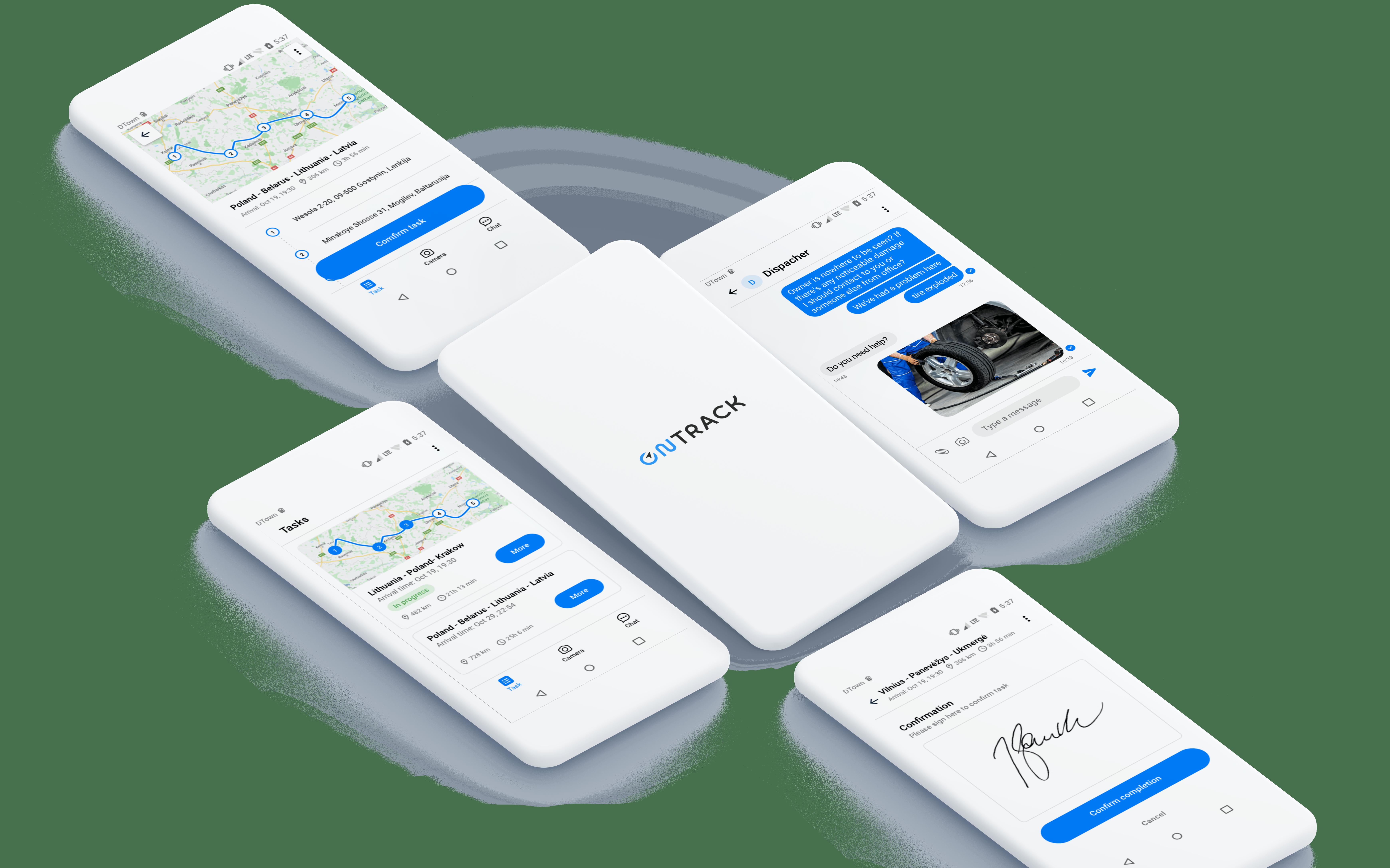 OnTrack App